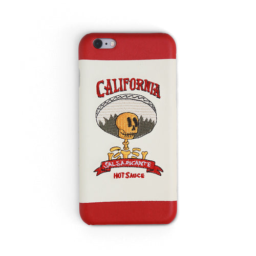 Hot Sauce | Embroidered iPhone Case by Workshop68