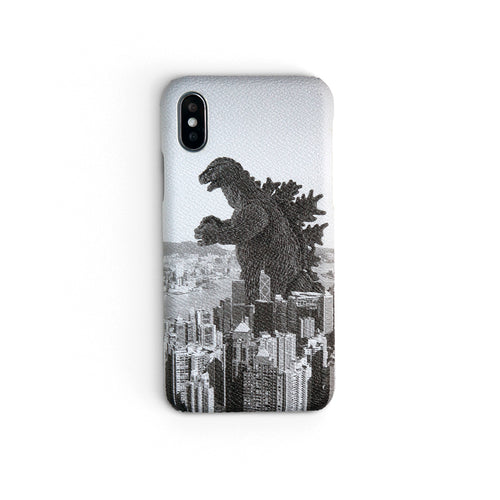 Hongzilla Black+White | iPhone Cases by Workshop68