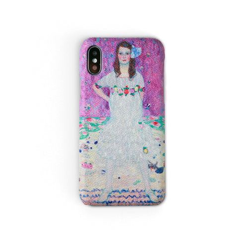 """Mäda Primavesi"" by Gustav Klimt Workshop68 iPhone Case"