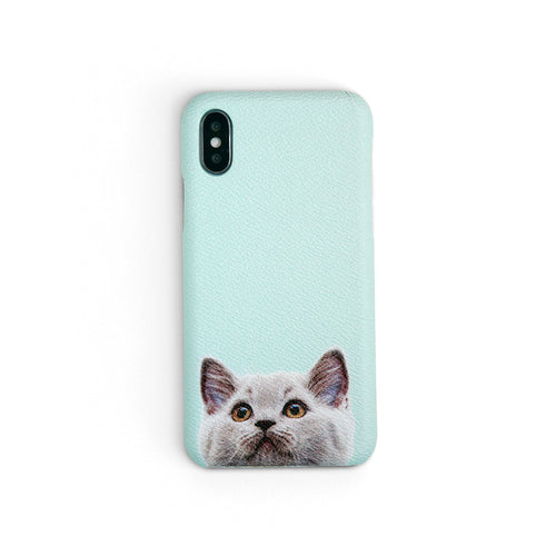 Miaow | iPhone Case by Workshop68
