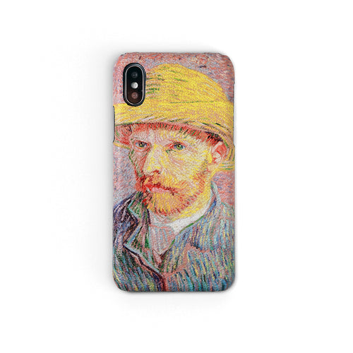 """Self-Portrait with a Straw Hat"" by Vincent van Gogh 