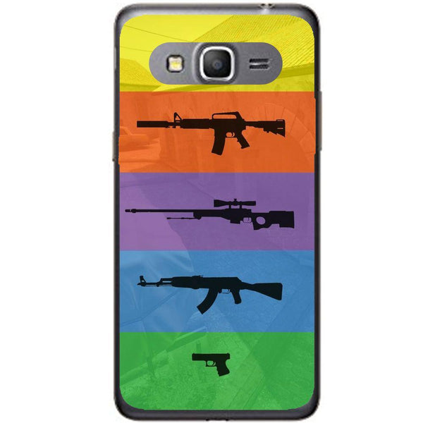 Etui na telefon Cs Go Multicolour Weapons Samsung Galaxy Core Prime G360