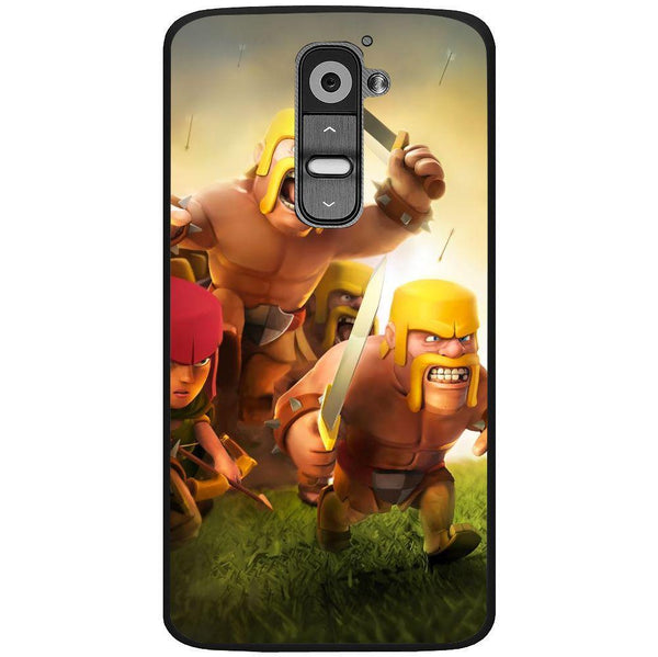 Etui na telefon Clash Of Clans Fighters LG G2