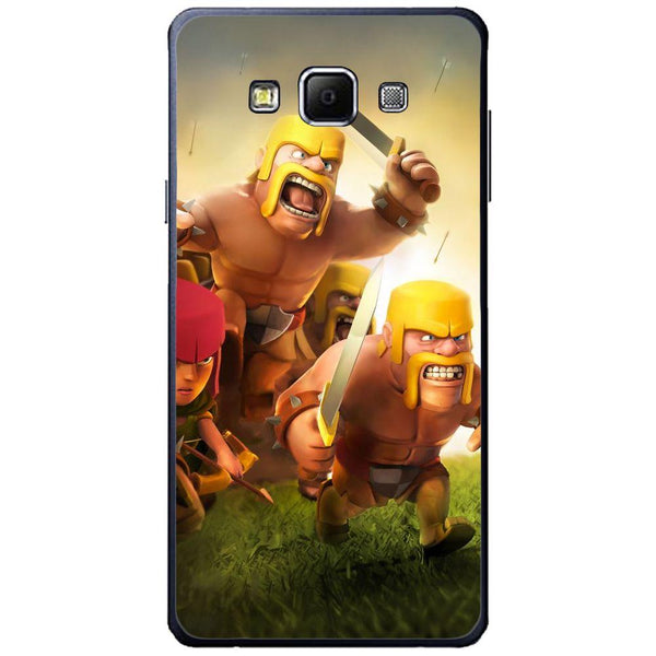 Etui na telefon Clash Of Clans Fighters SAMSUNG Galaxy A7
