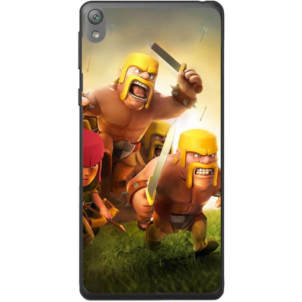 Etui na telefon Clash Of Clans Fighters Sony Xperia E5