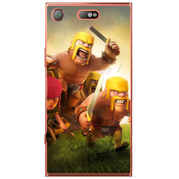 Etui na telefon Clash Of Clans Fighters Sony Xperia Xz1 Compact
