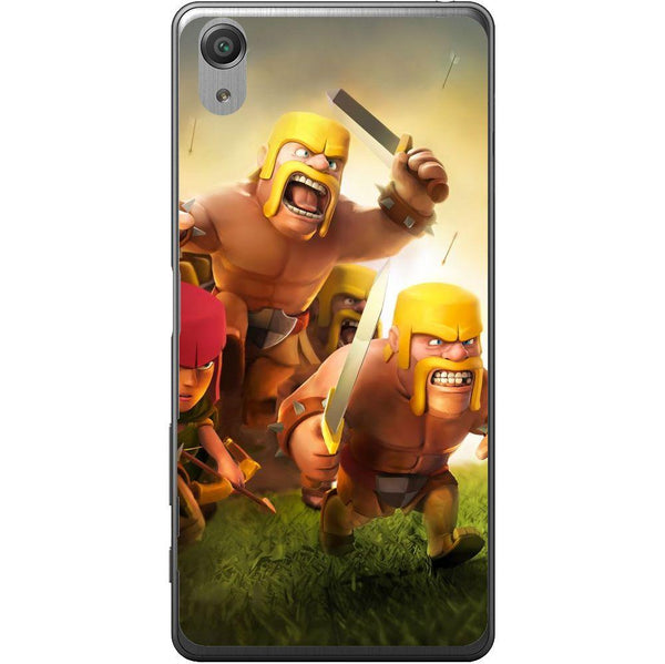 Etui na telefon Clash Of Clans Fighters Sony Xperia X Performance