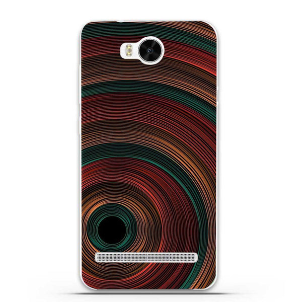 Etui na telefon Color Tunnel Circles HUAWEI Ascend Y3 Ii