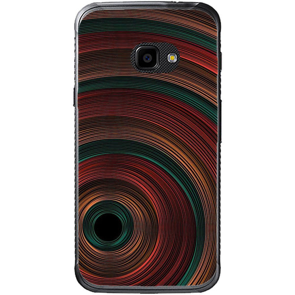 Etui na telefon Color Tunnel Circles Samsung Galaxy Xcover 4