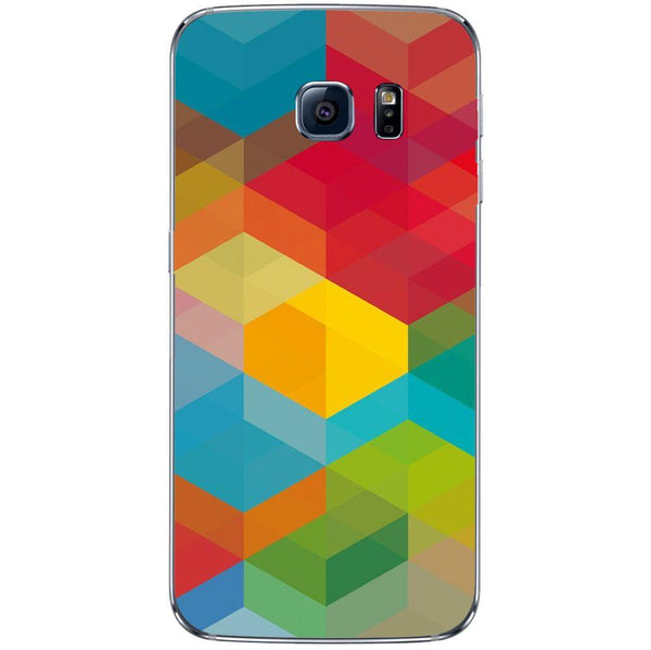Etui na telefon Colored Cubes SAMSUNG Galaxy S8