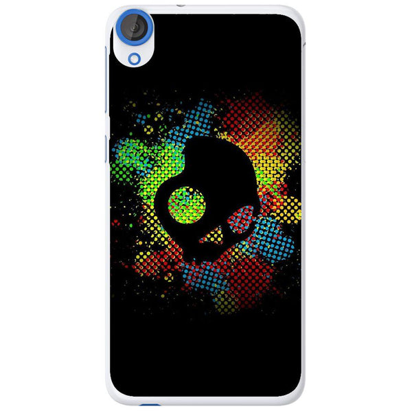 Etui na telefon Colorful Skull Dark Art Illustration HTC Desire 820