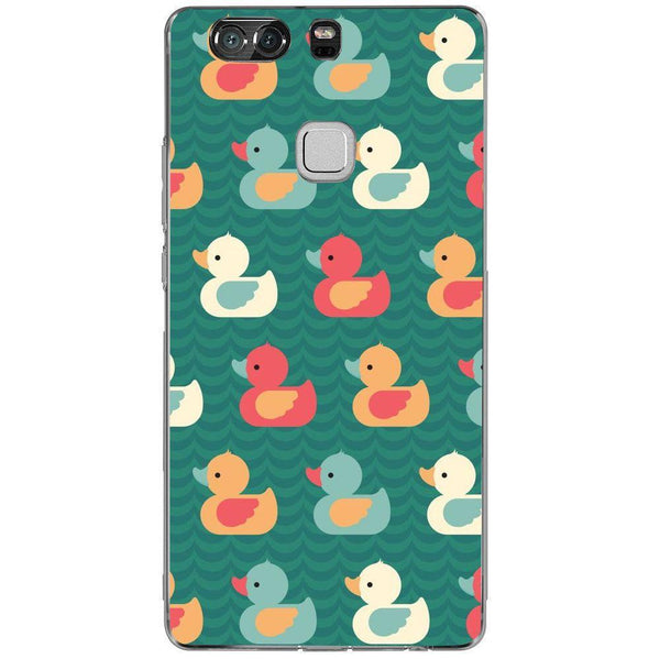 Etui na telefon Colorful Duck Pattern HUAWEI Ascend P9 Plus