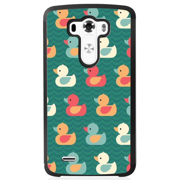 Etui na telefon Colorful Duck Pattern LG G4