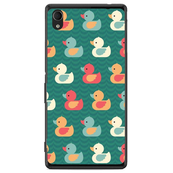 Etui na telefon Colorful Duck Pattern Sony Xperia M4 Aqua E2303 6