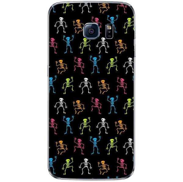 Etui na telefon Colorful Skelletons Dark Pattern SAMSUNG Galaxy S8
