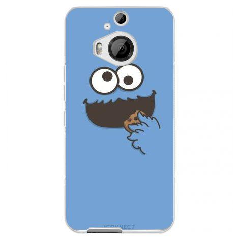 Etui na telefon Cookie Monster HTC One M9