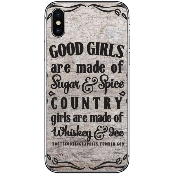 Etui na telefon Country Girls Outes APPLE Iphone X