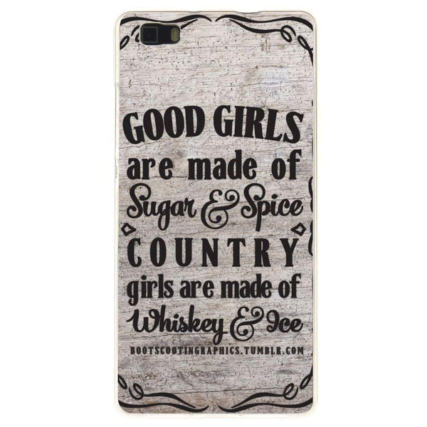Etui na telefon Country Girls Outes HUAWEI Ascend P8