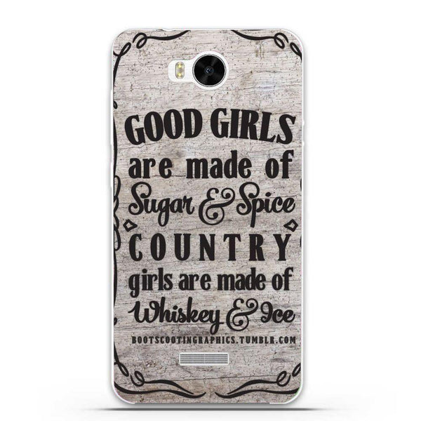 Etui na telefon Country Girls Outes HUAWEI Ascend Y5c Y541