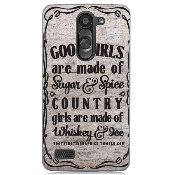 Etui na telefon Country Girls Outes LG L Bello