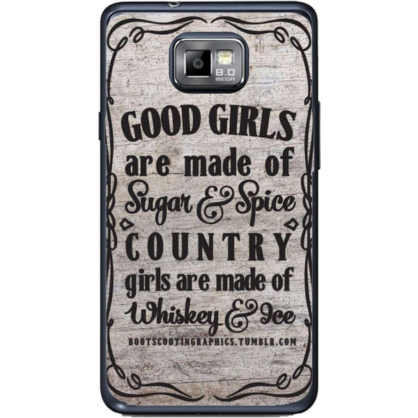 Etui na telefon Country Girls Outes Samsung Galaxy S2 Plus I9105