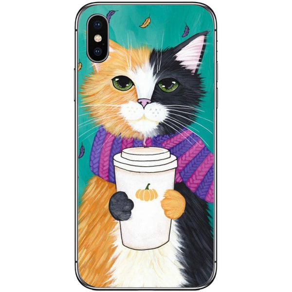 Etui na telefon Cozy Cat APPLE Iphone X