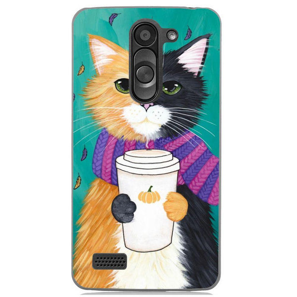 Etui na telefon Cozy Cat LG L Bello