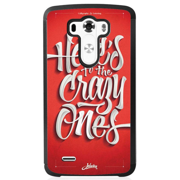 Etui na telefon Crazy Friends LG G4