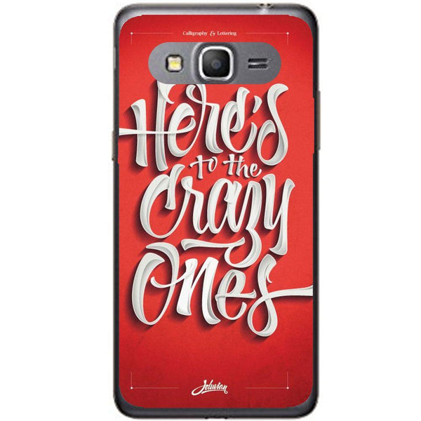 Etui na telefon Crazy Friends Samsung Galaxy Core Prime G360