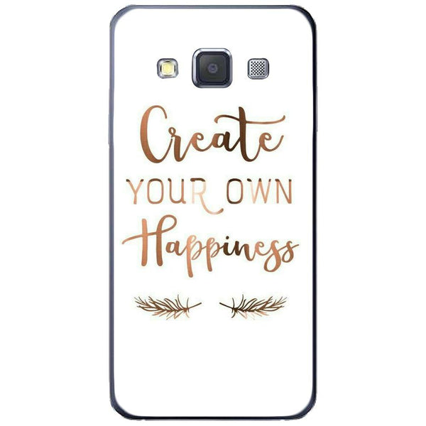 Etui na telefon Create Your Own Happiness SAMSUNG Galaxy A3