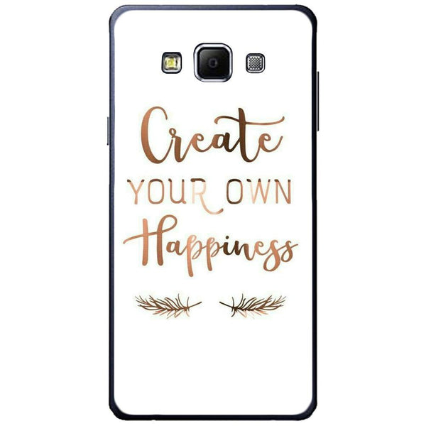 Etui na telefon Create Your Own Happiness SAMSUNG Galaxy A7