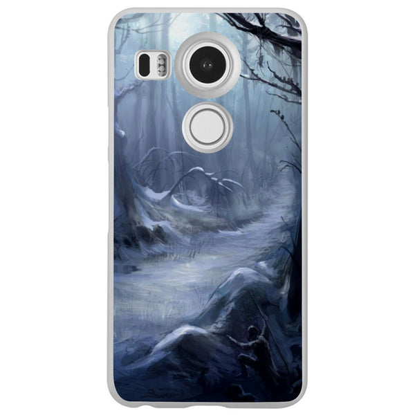Etui na telefon Creepy Forest LG Nexus 5x