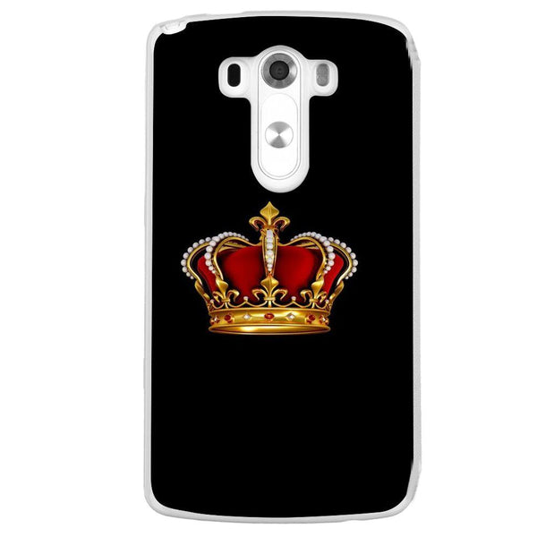 Etui na telefon Crowon Black Background LG G3