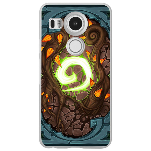 Etui na telefon Custom Hearthstone Card Back LG Nexus 5x