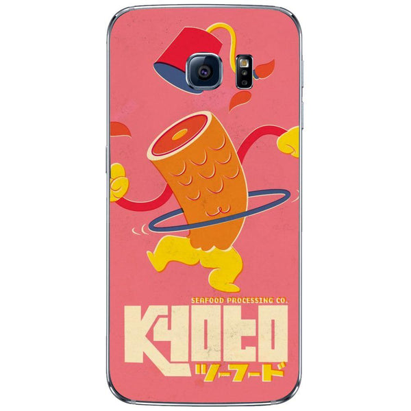 Etui na telefon Cut Happy Fish SAMSUNG Galaxy S6 Edge