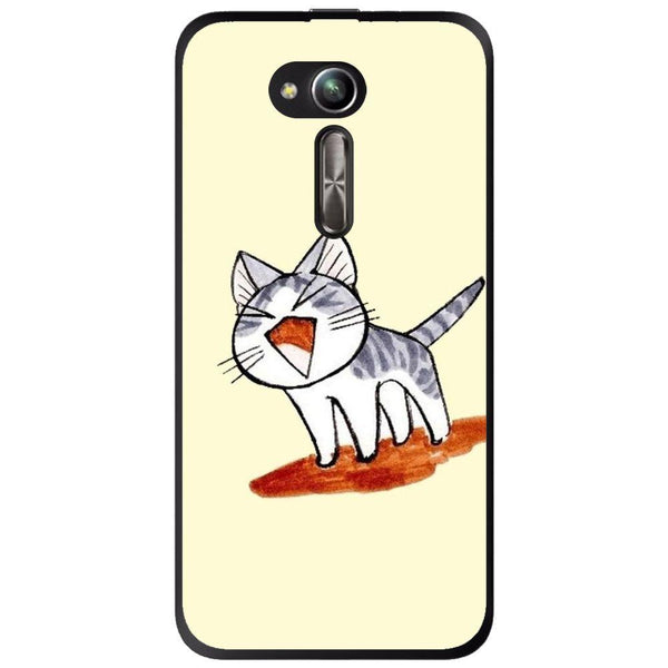 Etui na telefon Cute Cat Cartoon Drawing Asus Zenfone Go Zb500kl