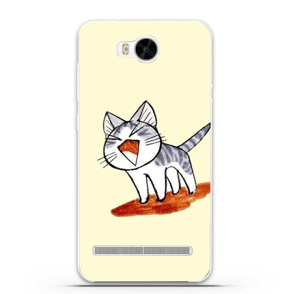 Etui na telefon Cute Cat Cartoon Drawing HUAWEI Ascend Y3 Ii
