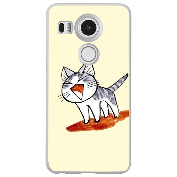 Etui na telefon Cute Cat Cartoon Drawing LG Nexus 5x