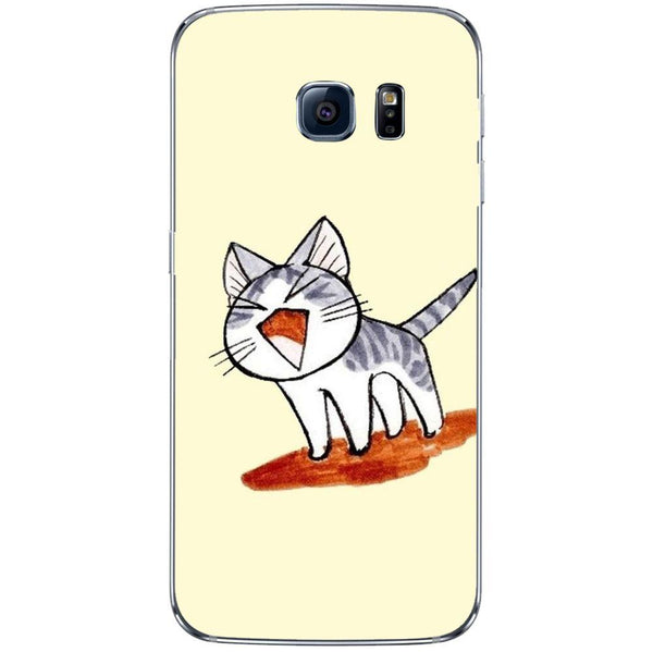 Etui na telefon Cute Cat Cartoon Drawing SAMSUNG Galaxy S8