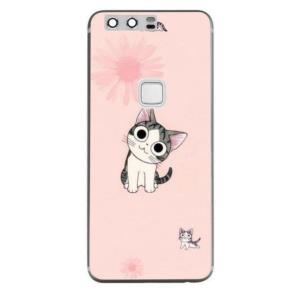 Etui na telefon Cute Nexus Cat HUAWEI Ascend P10 Plus