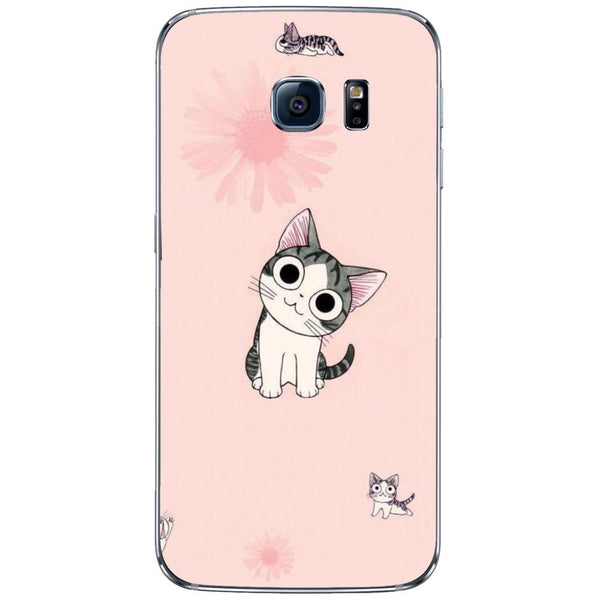Etui na telefon Cute Nexus Cat SAMSUNG Galaxy S6 Edge