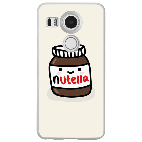 Etui na telefon Cute Nutella Jar LG Nexus 5x