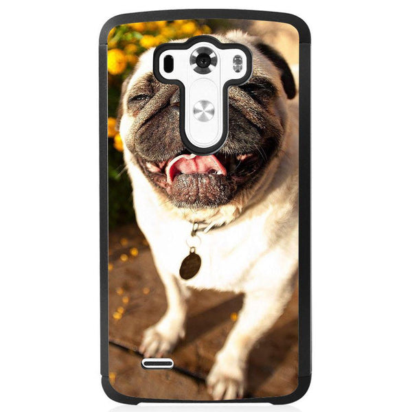 Etui na telefon Cute Pug Laughing LG G4