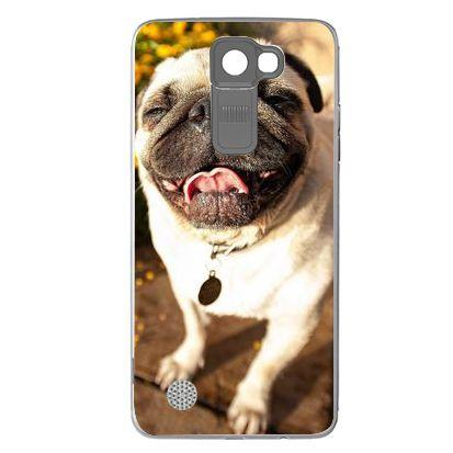 Etui na telefon Cute Pug Laughing LG K8