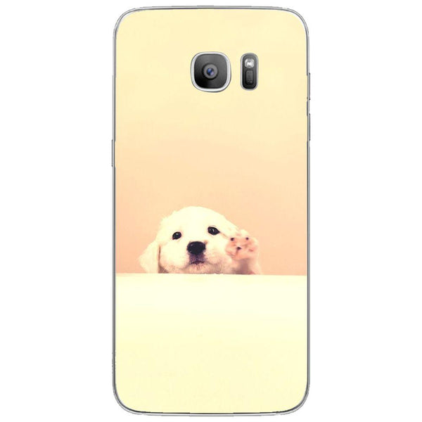 Etui na telefon Cute Puppy SAMSUNG Galaxy S7 Edge