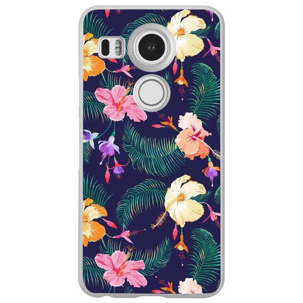 Etui na telefon Cute Retro Flowers LG Nexus 5x