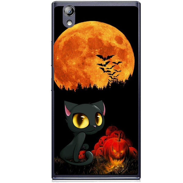 Etui na telefon Cute Cat And Pumpkin Lenovo P70