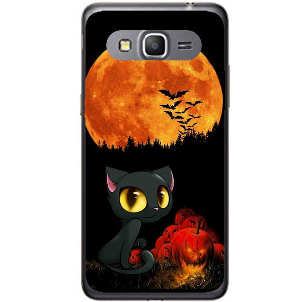 Etui na telefon Cute Cat And Pumpkin Samsung Galaxy Core Prime G360