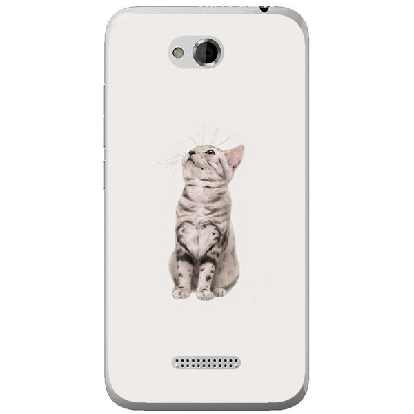 Etui na telefon Cute Little Tiger Cat HTC Desire 616