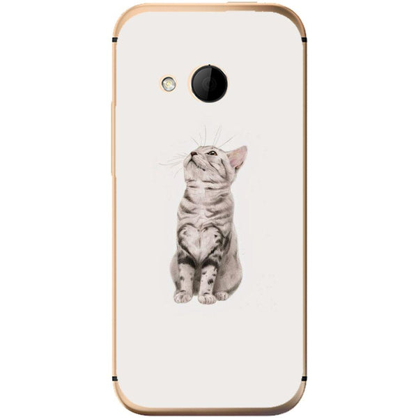 Etui na telefon Cute Little Tiger Cat HTC One Mini 2
